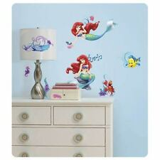 The Little Mermaid Wall Decals Ariel Stickers Kids Room Decor LICENSED Roommates