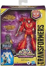 Transformers Bumblebee Cyberverse Adventures Deluxe Class Hot Rod BAF Maccadam