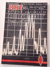 QST Amateur Radio Magazine Unetched Circuit Boards November 1966 121816rh