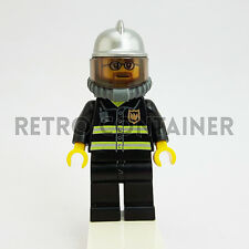 LEGO Minifigures - 1x cty057 - Fireman - Pompiere Omino Minifig Set 7208
