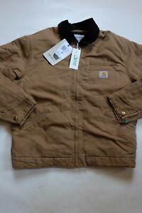 Jacket CARHARTT Og Detroit Jacket (Hamilton Brown/Black Aged Ca) SIZE S