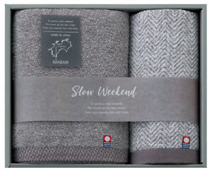 Natural Towel Collection Imabari slow weekend Face&Wash Towel  Made in Japan New