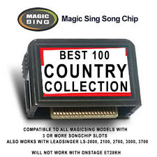 MAGIC SING MIC Leadsinger BEST COUNTRY MUSIC COLLECTION