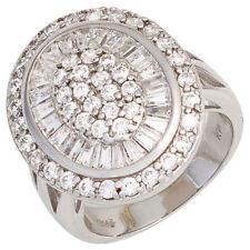Anelli di lusso zircone argento