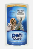 Peticare The Illuminated Pet Nail Clipper Great For Cats & Dogs