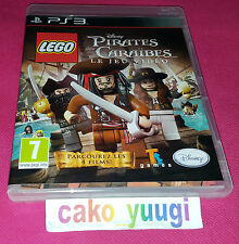 LEGO PIRATES DES CARAIBES LE JEU VIDEO  PS3 TRES BON ETAT VERSION FRANCAISE