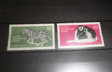 """STAMPS EAST GERMANY DDR 1961 """"DRESDA ZOO - ANIMALS"""" MNH** SET (CAT.5)"""