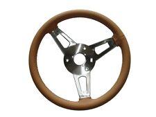 PG Classic 256-BS-T Mopar A,B,C,E-Body Leather Tuff Steering Wheel TAN