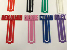 Personalised bookmark, gift for kids, boy, girl, adult, book lover gifts