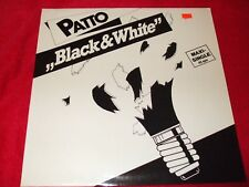 """PATTO ~ BLACK & WHITE 12""""   MINT/ NEVER PLAYED /  RARE / IMPORT"""
