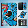 GRAFFITI WALL ART #3 FLIP PASSPORT WALLET ORGANIZER COVER HOLDER