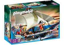 playmobil 5140 PIRATEN Rotrock Kanonensegler for Pirates Pirat Schiff Segelboot