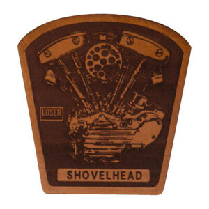 Loser Machines Mooneyes Leather Patch Shovelhead