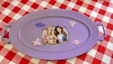 VTG Pretend Play Food Purple Party Serving TRAY Barbie Princess Purple CDI