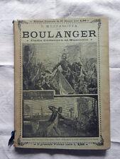 BOULANGER Dalla Dittatura Al Suicidio Mezzabotta Roma 1892 Libro Antico