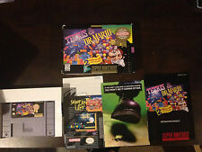 Tetris & Dr. Mario SNES Super Nintendo, CIB, Game, Box, Manual and Inserts