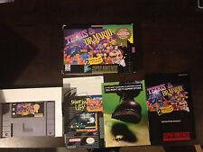 Tetris & Dr. Mario SNES Super Nintendo, CIB, Game, Box, Manual and Inserts
