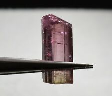 Tourmaline bicolore terminée 6,63 carats  Natural terminated bicolor tourmaline