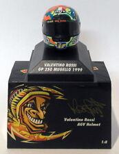 Minichamps 1/8 Scale 397 990076 - AGV Helmet GP 250 Mugello 1999 V. Rossi