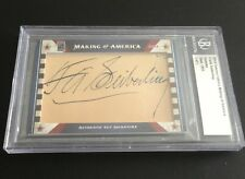 2014 FAMOUS FABRICS MAKING OF AMERICA FRANK SEIBERLING GOODYEAR FOUNDER AUTO 1/1