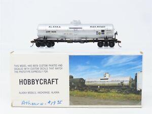 HO Scale Athearn ARR Alaska Railroad Single Dome Tankcar #9035 Custom
