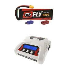 Venom Fly 30C 4S 3200mAh 14.8V LiPo Battery and 2-4 Cell Balance Charger Combo