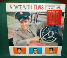 A DATE WITH ELVIS 1960 ORIGINAL RCA LPM-2011 PRESLEY ROCKABILLY SUN EXC. WOODY