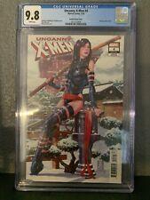 Uncanny X-Men #4 CGC 9.8. Mark Brooks Variant 1:100 Hidden Gem Psylocke Cover