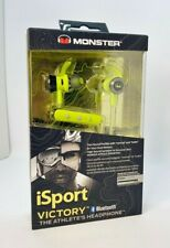 Monster iSport Victory Bluetooth Wireless In-Ear Headphones Earbuds - Green