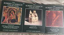 3 Vol. Sotheby's Catalogs Robert Von Hirsch Collection