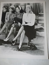 "BETTY GRABLE-PAULETTE GOODARD ORIGINAL 8 x 10"" B&W Studio Still Photograph"