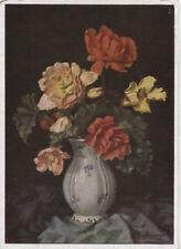 Alte Kunstpostkarte - W.H. Wendlberger  - Blumenstrauß