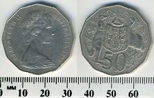 Australia 1978 - 50 Cents Copper-Nickel Coin - Elizabeth II - kangaroo & emu