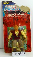 MOTU, Prince Adam, Masters of the Universe, MOC, carded, complete figure, He-Man
