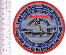 US Army Vietnam LRRP Ranger 8th Cavalry Regiment 1st Bn 65 66 Chinese Bandit