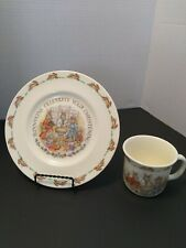 Bunnykins Cup And Plate Set