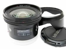 Minolta AF 20mm F2.8 Ultra Wide Angle Lens Sony Alpha Excellent from Japan F/S