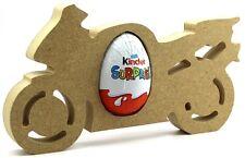 MOTO non associate MDF kinder uovo Holder, Pasqua regalo VUOTO Craft Forma