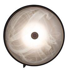RV (Camper) Ceiling Light | 12V LED | Textured Black | RV Dinette Light Fixture