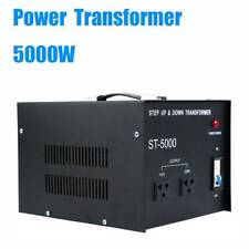 5000W Step Up/Down Heavy Duty Electrical Power Voltage Converter Transformer Kit
