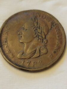 1783 Washington & Independence Unity States Cent