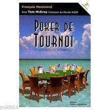Livre POKER DE TOURNOI par François Montmirel 462 pages en français 733043