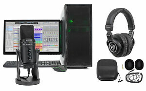 Samson Gaming Streaming Twitch Kit wG-Track Pro Mic+Headphones+Stand