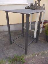 Bartisch Stehtisch Bistrotisch Tisch Stahl Grau 80 x 80 x 112 cm  UVP: 229,95€