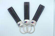 Brand New Leather BMW M Sport Keyring Keychain M3 M4 M5 M135i M Fob 1 2 3 Series