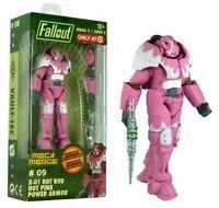 FALLOUT MEGA MERGE X-01 HOT ROD (HOT PINK POWER ARMOR) #09 / TARGET EXCLUSIVE