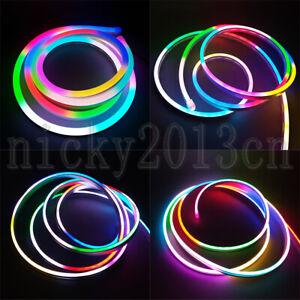2M SK6812 3528 RGB LED Pixel Neon Tube Flex Strip Light Individual Addressable