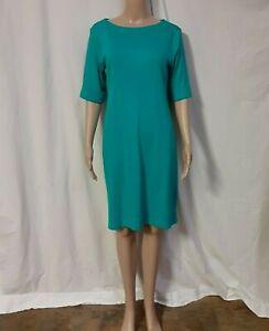 Karen Scott  Women's Short Sleeve Sport Dress Small Teal NWT