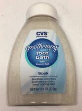 CVS EPSOTHERAPY FOOT BATH WITH EPSON SALT SOAK 9.5OZ BRAND NEW