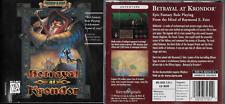 Betrayal at Krondor Raymond E. Feist Riftwar Legacy Fantasy RPG PC, CD-ROM 1993